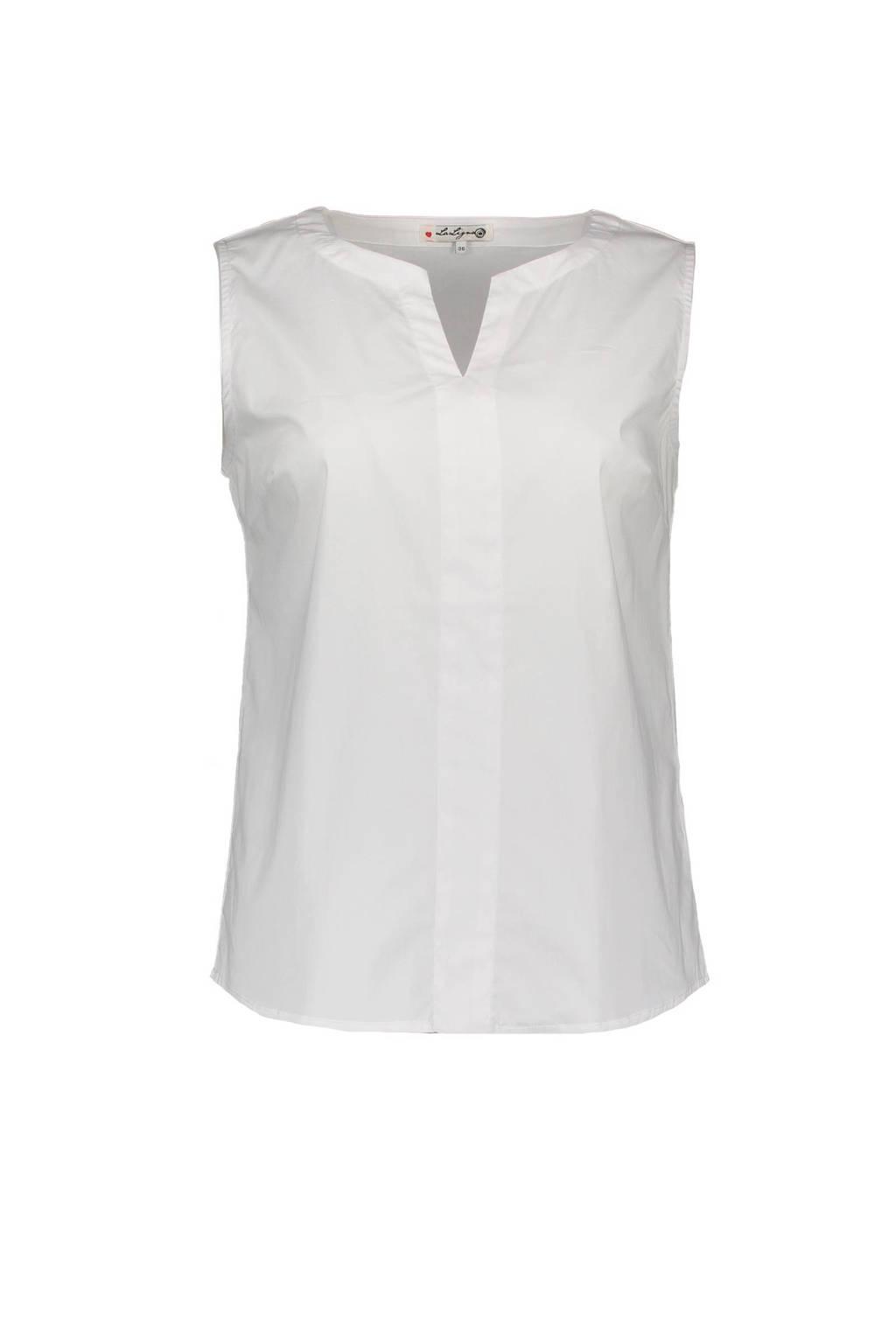 La Ligna blouse, Wit
