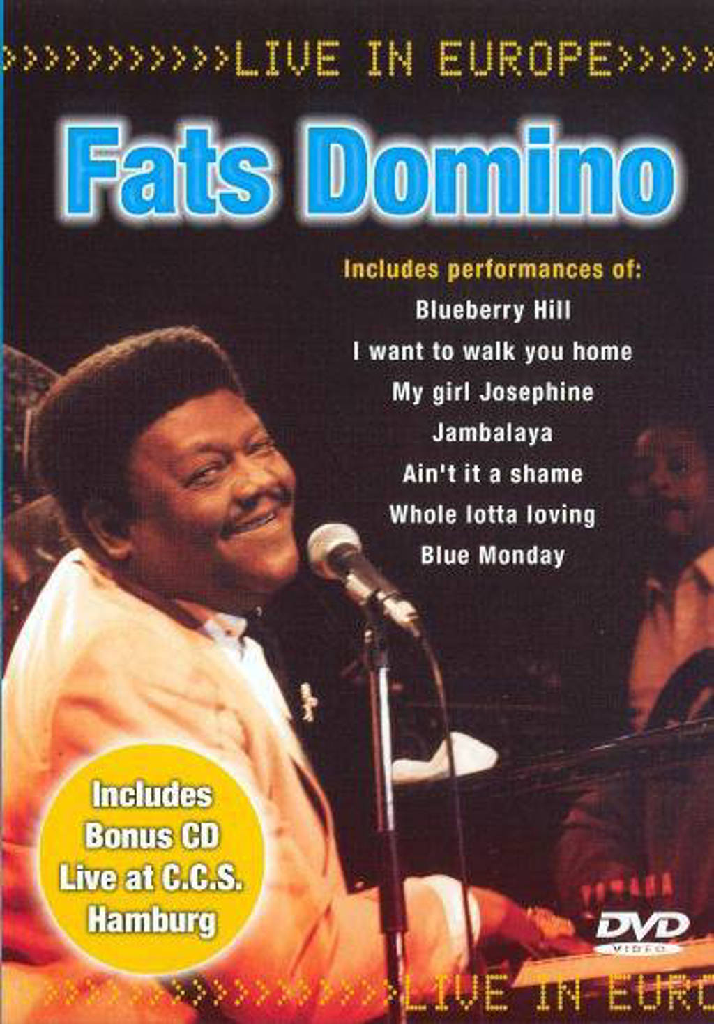 Fats Domino - Live in Europe (DVD)