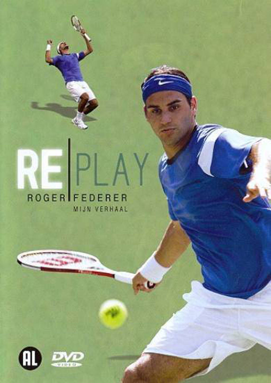 Roger Federer-Replay  (DVD)