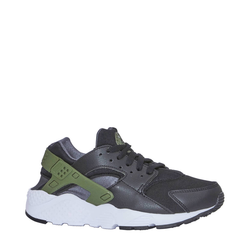 premium selection 041be b0d94 Nike Huarache Run (GS) sneakers, Zwart groen