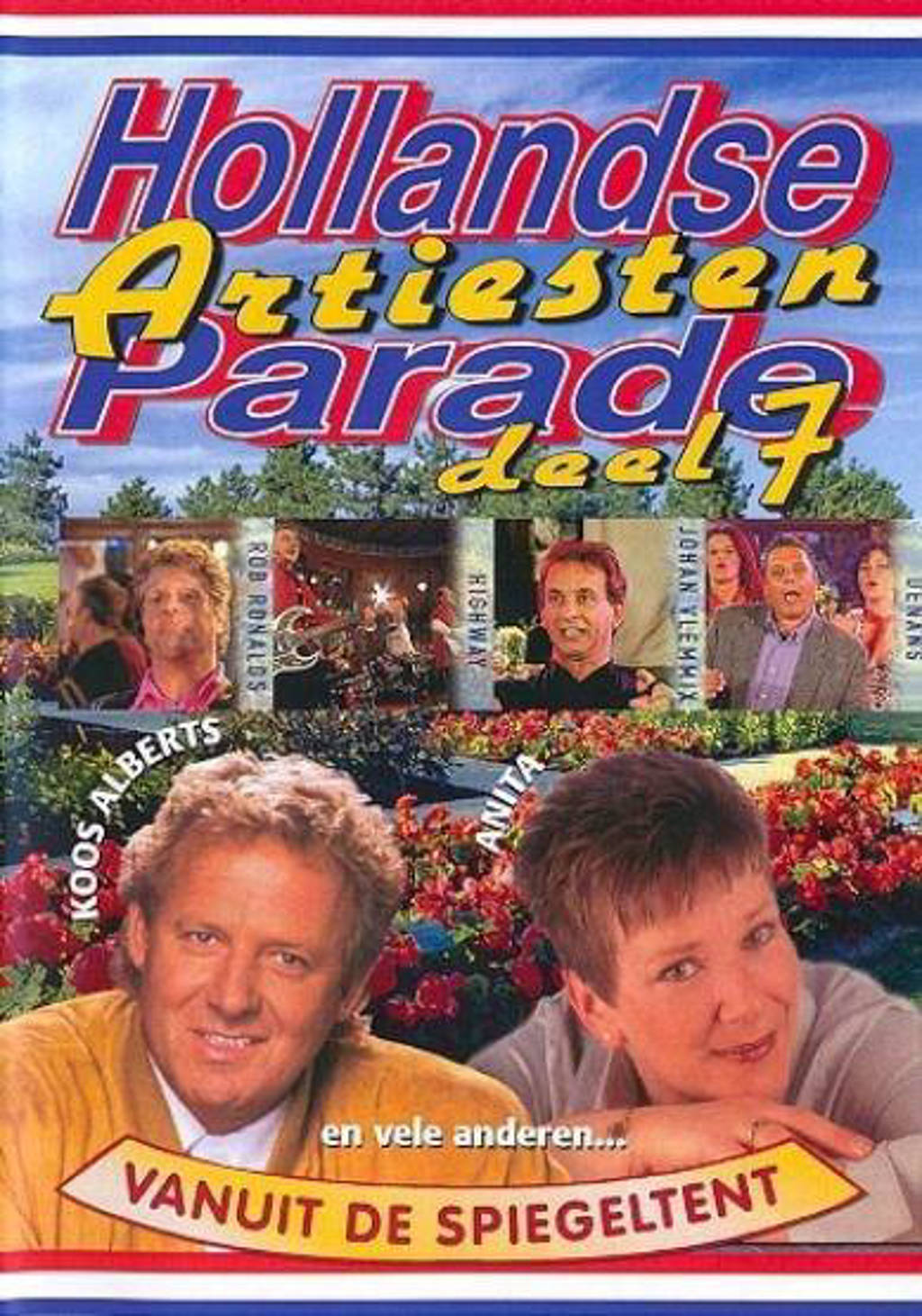Hollandse artiesten parade 7 (DVD)