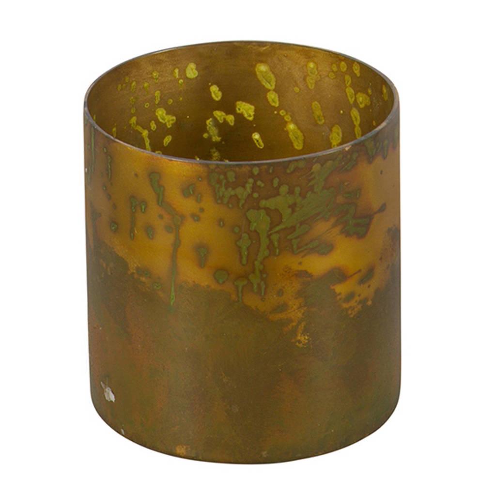 BePureHome waxinelichthouder Stardust M, Brass