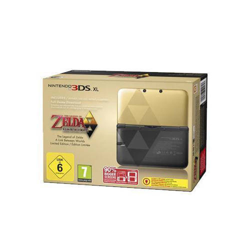 Nintendo 3DS XL + Zelda A link between worlds