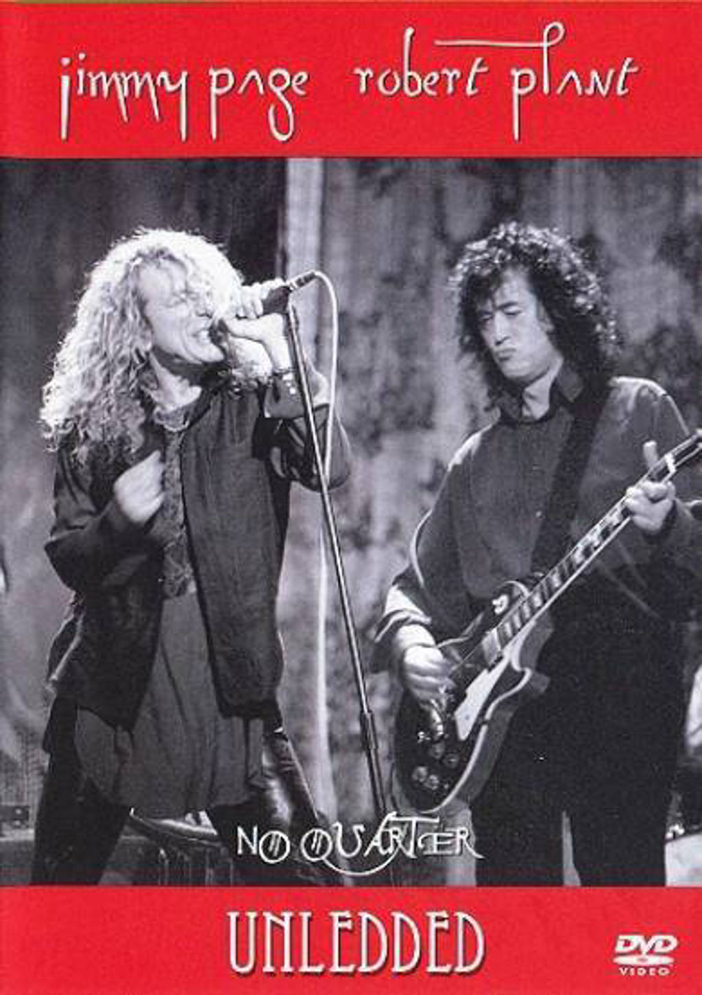 Jimmy Page & Robert Plant - No quarter unledded (DVD)