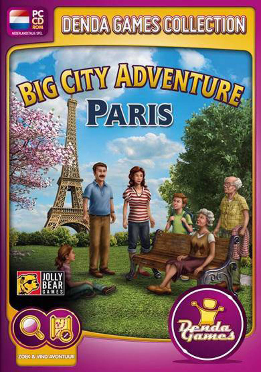 Big city adventure - Paris (PC)