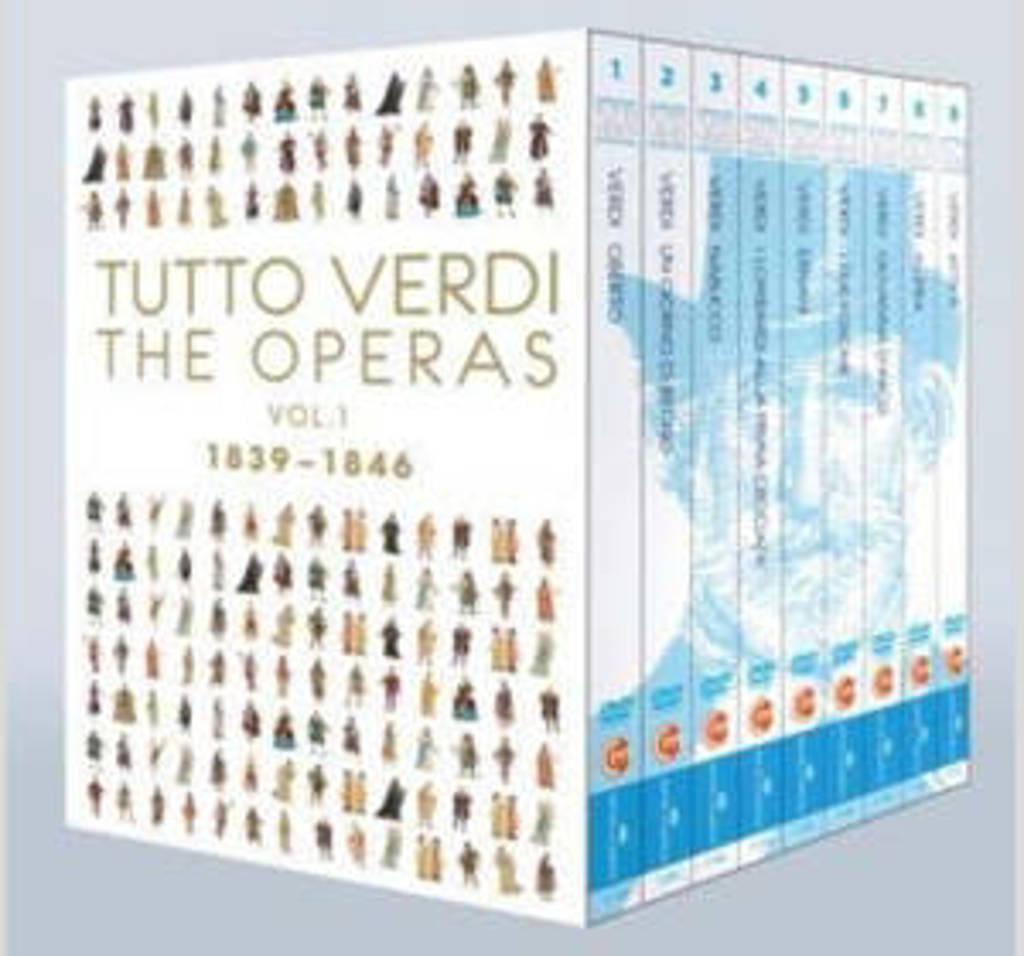 Pentcheva,Sartori,Battista,Nucci - Tutto Verdi Era Box 1, 1839-1846 (DVD)