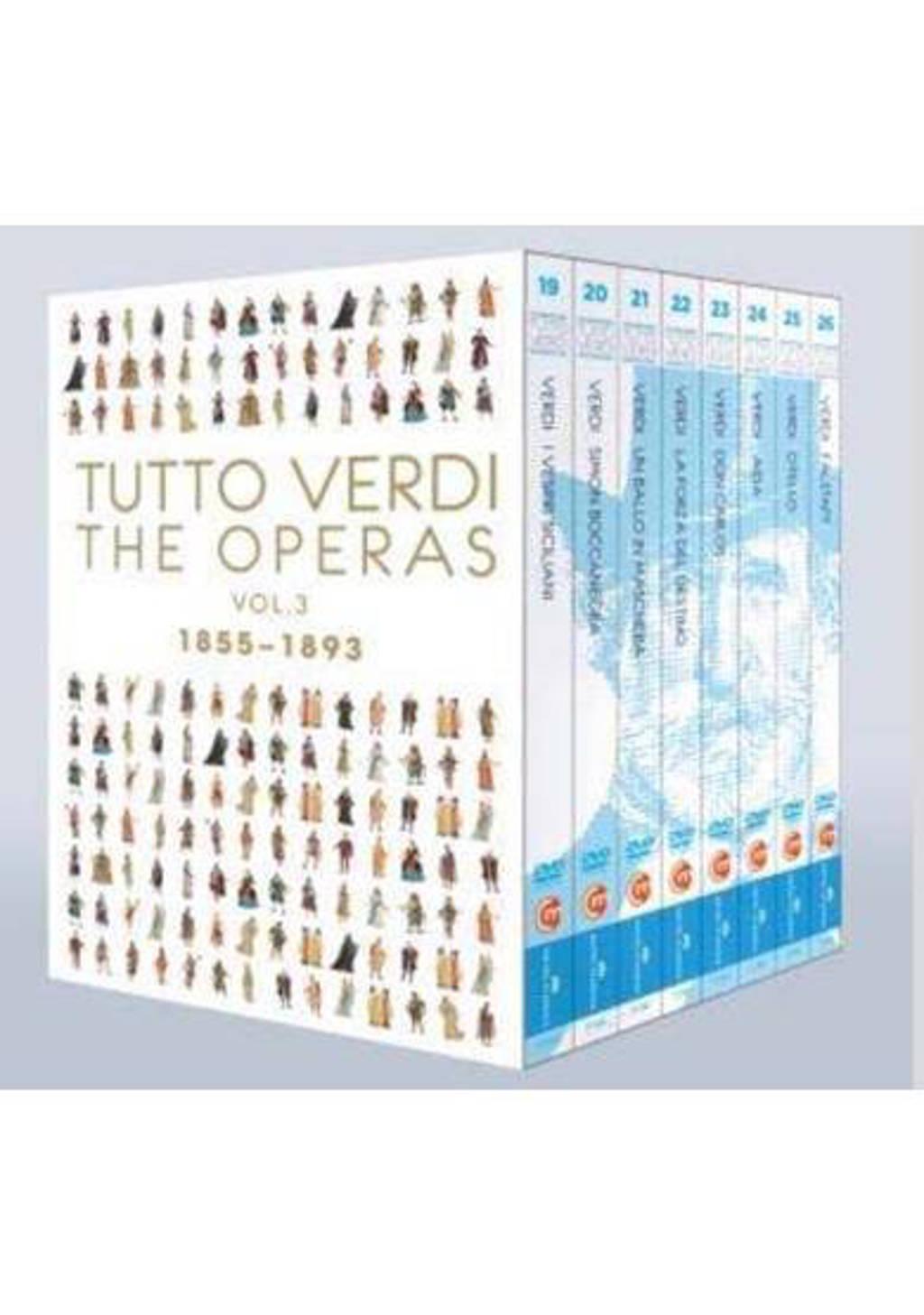 Nucci,Armiliato,Prestia E.A. - Tutto Verdi Era Box 3, 1855-1893, B (Blu-ray)