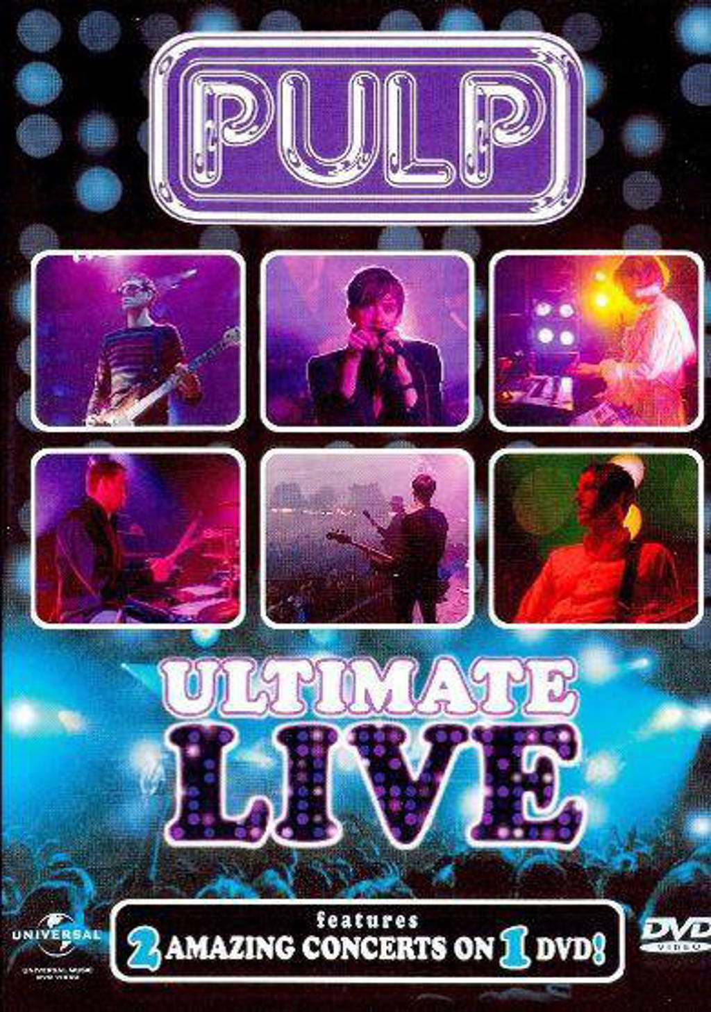 Pulp - Ultimate live (DVD)