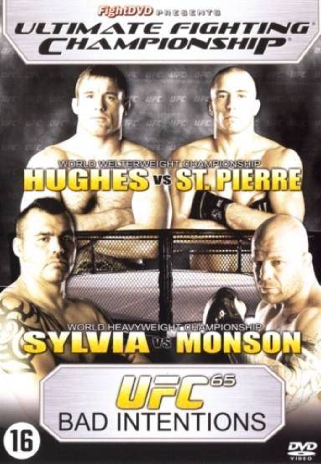 UFC-UFC 65 bad intentions (DVD)