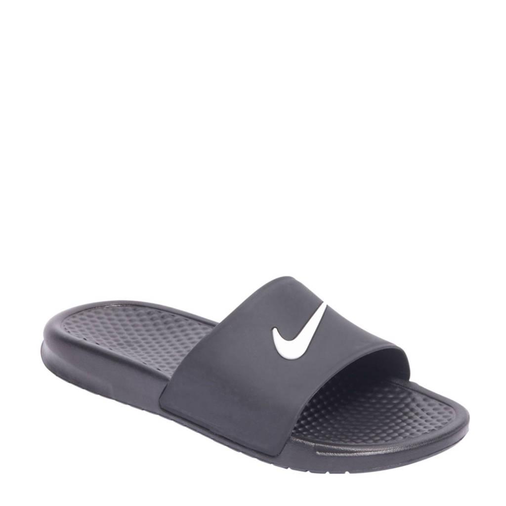 26ab96336ef Nike Benassi JDI badslippers, Zwart/wit