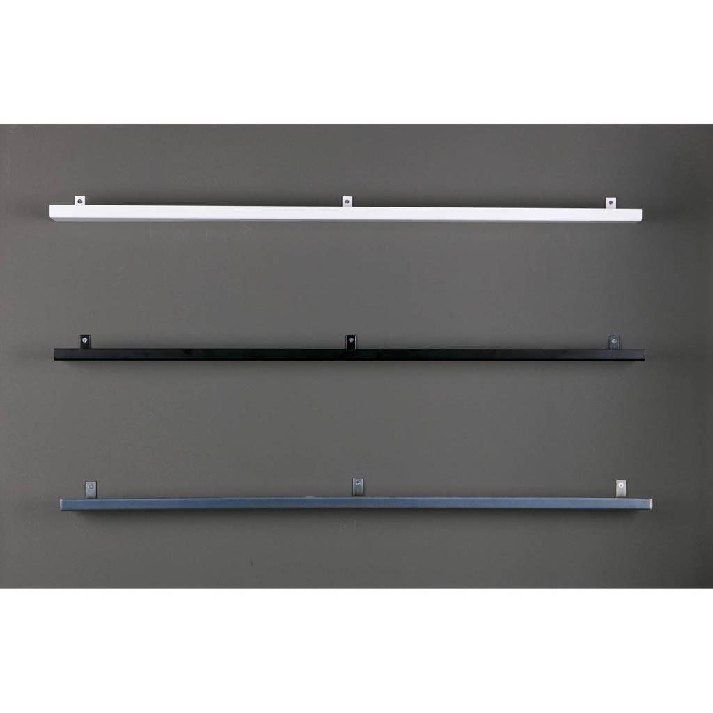Wandplank Zwart Metaal Hout.Vtwonen Wandplank 120x7 5 Cm Wehkamp