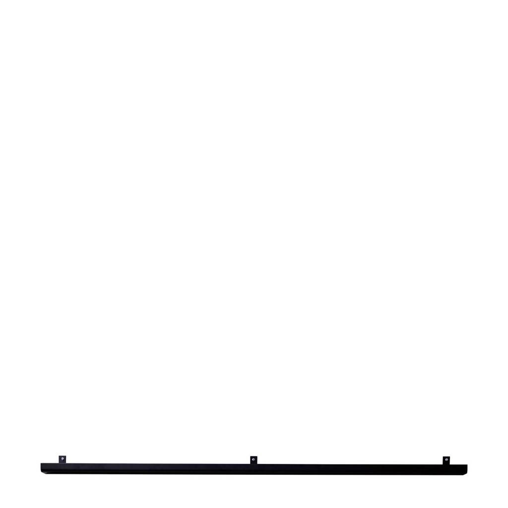 vtwonen wandplank (120x7.5 cm), Zwart