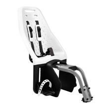 Maxi zadelbuis fietsstoeltje achter wit