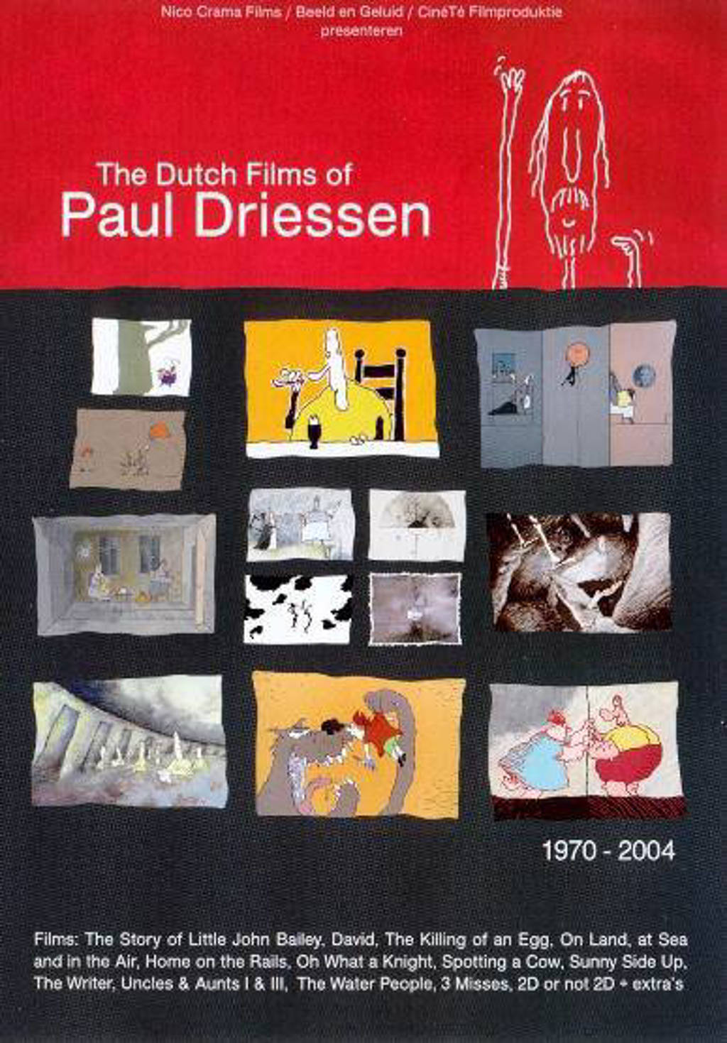 Dutch films of Paul Driessen  (DVD)