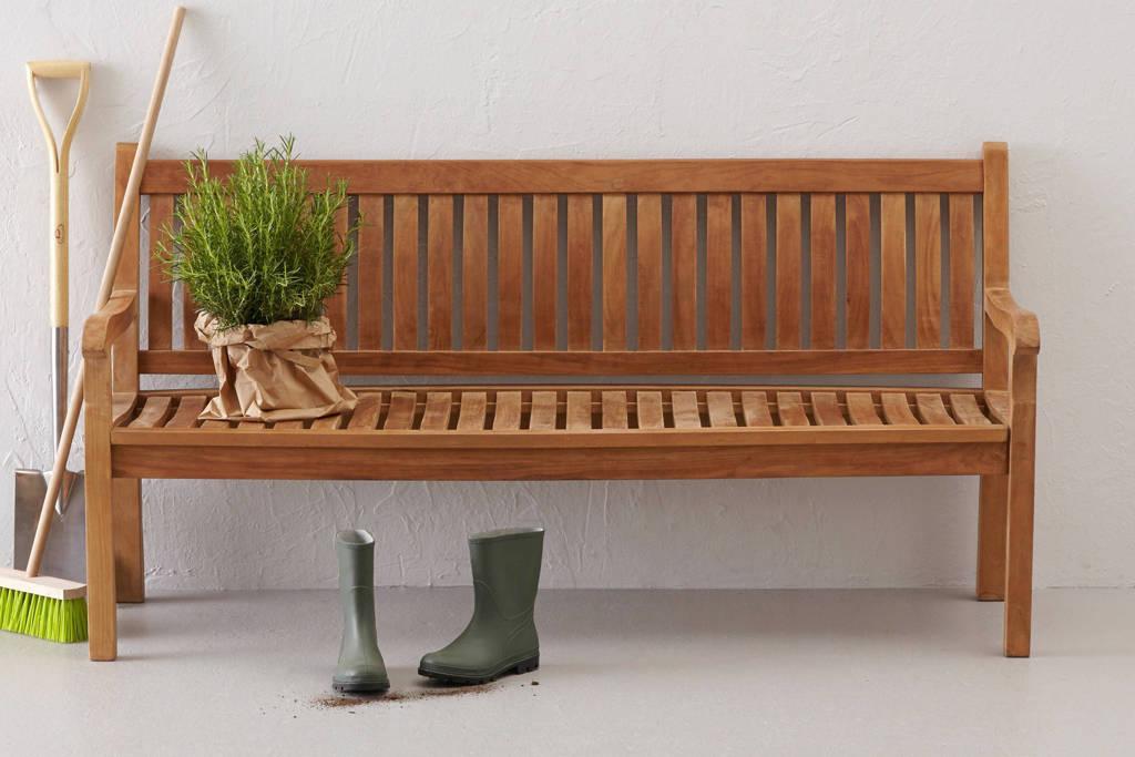 SenS-Line houten tuinbank Sipora (3-zits), Bruin