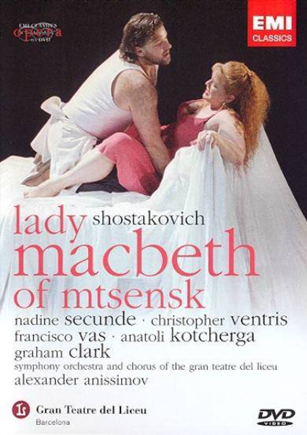 Shostakovich - Lady macbeth of mtsensk (DVD)