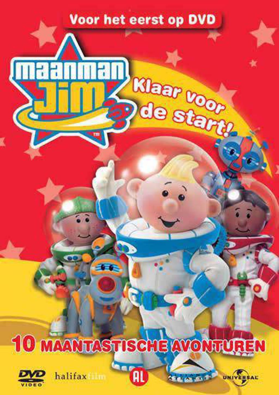 Maanman Jim - Klaar voor de start (DVD)