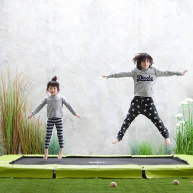 springtijd trampolines in alle maten