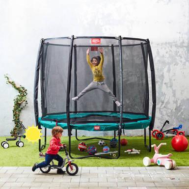 spring hoger shop trampolines