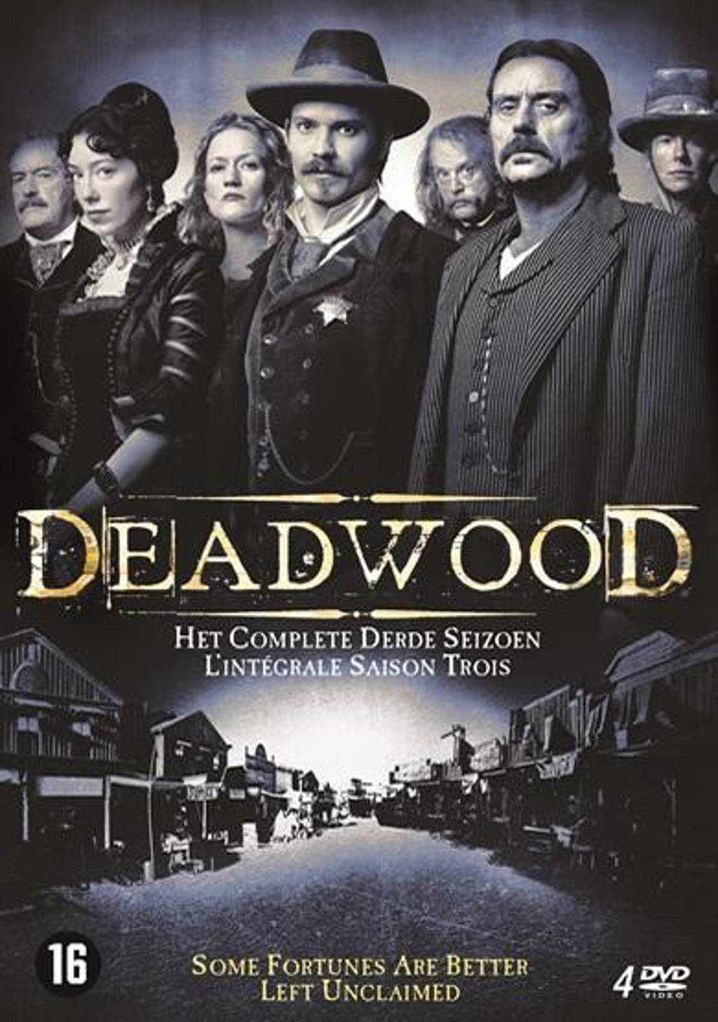 Deadwood - Seizoen 3 (DVD)
