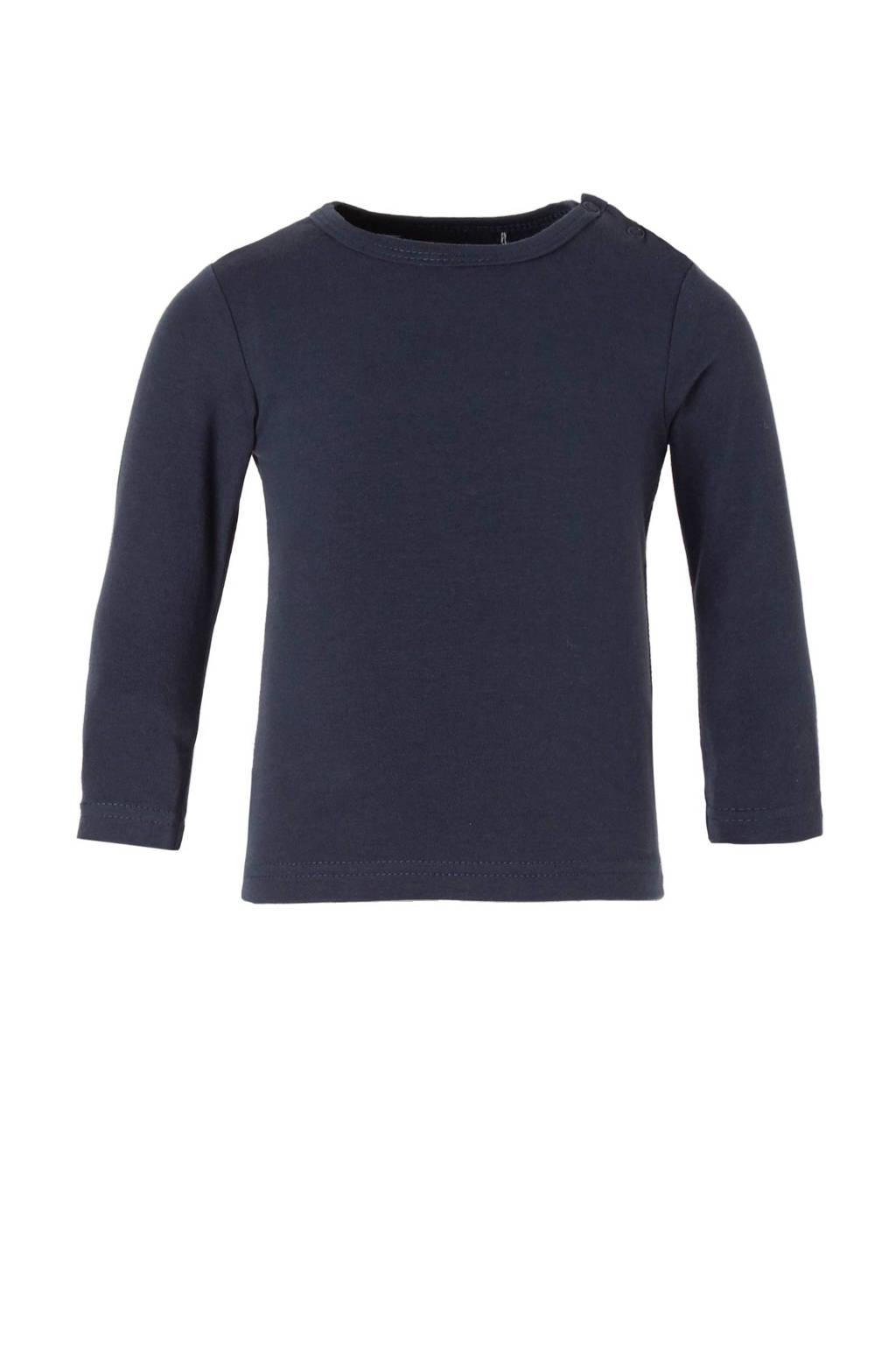 Dirkje T-shirt, Donkerblauw, Lang