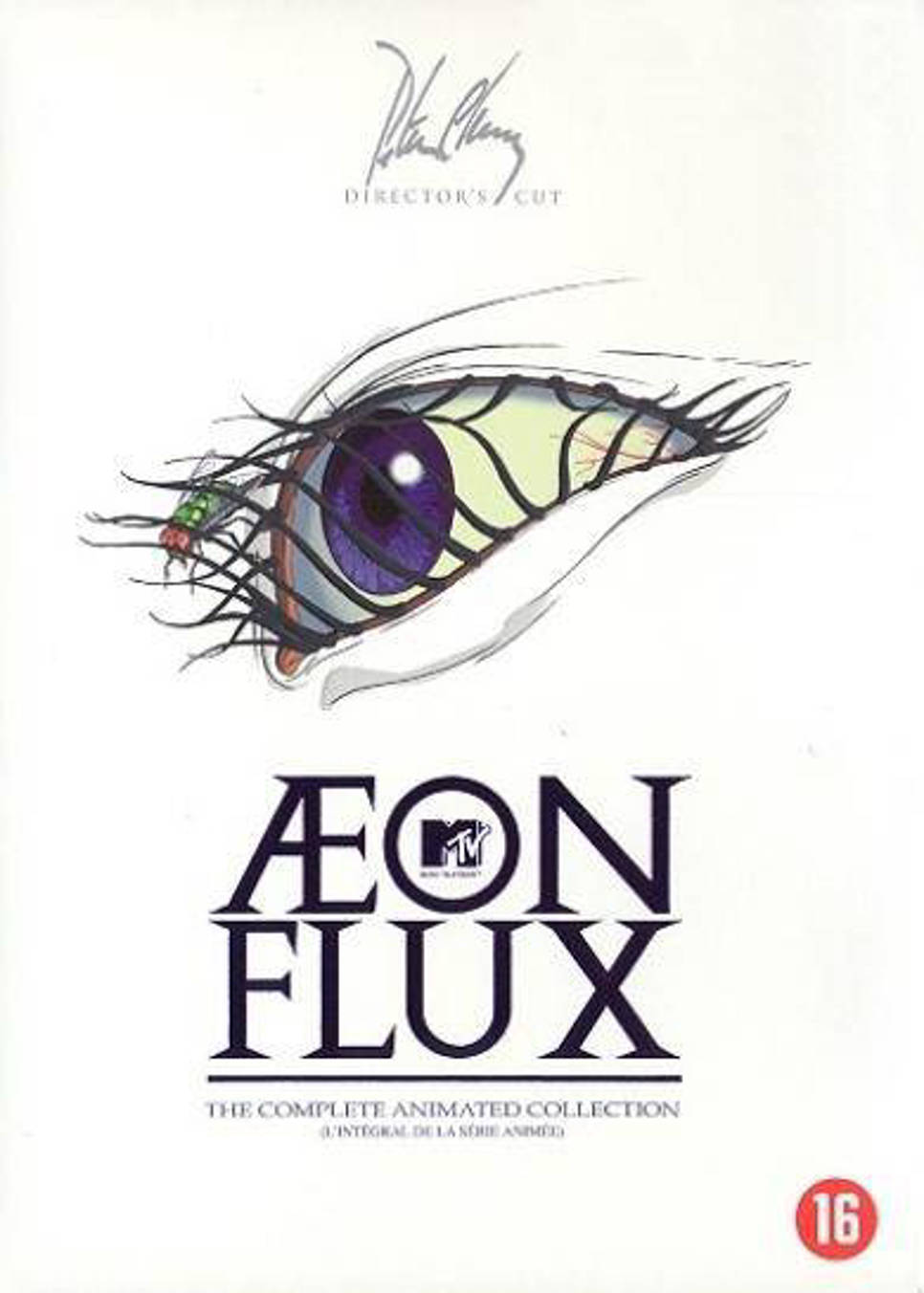 Aeon flux animated (DVD)