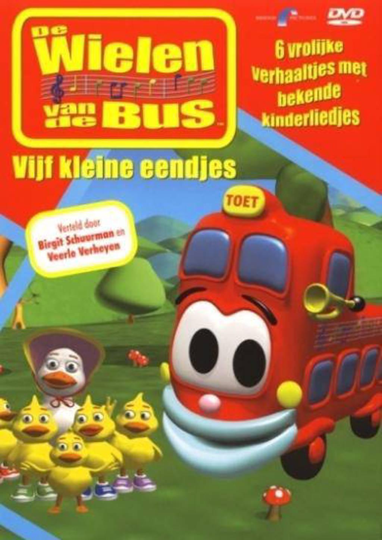 Wielen van de bus - Vijf kleine eendjes (DVD)