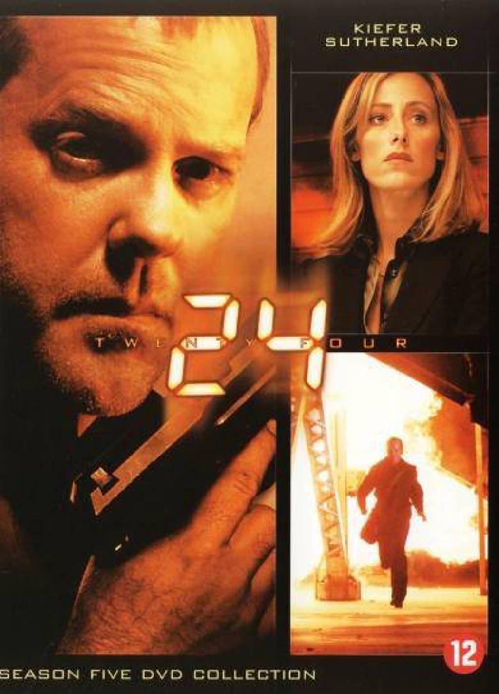 24 - Seizoen 5  (DVD)