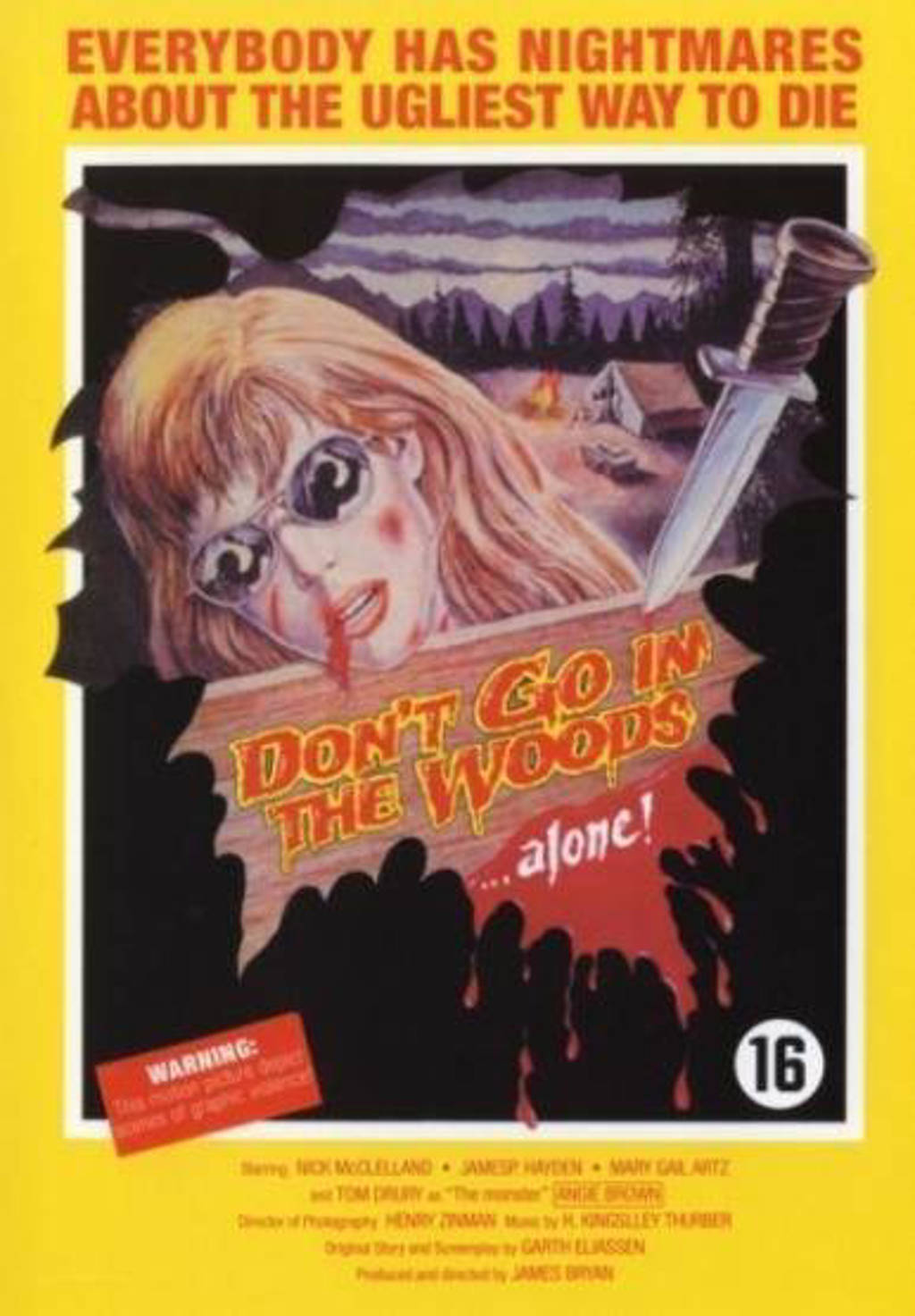 Don't go in the woods alone (DVD)