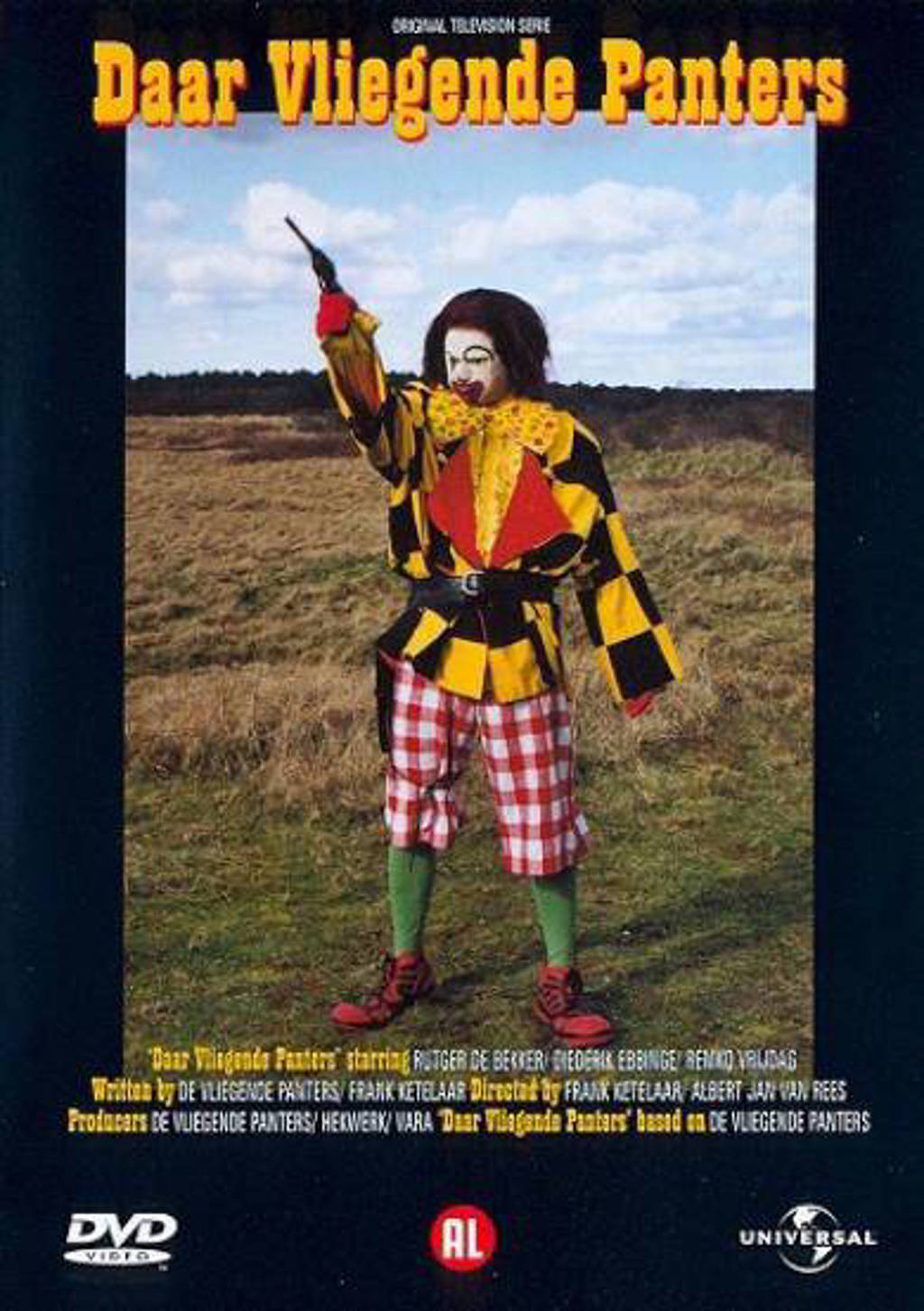 Vliegende Panters-daar vliegende Panters (DVD)