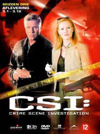 CSI - Seizoen 3 deel 1 (DVD)