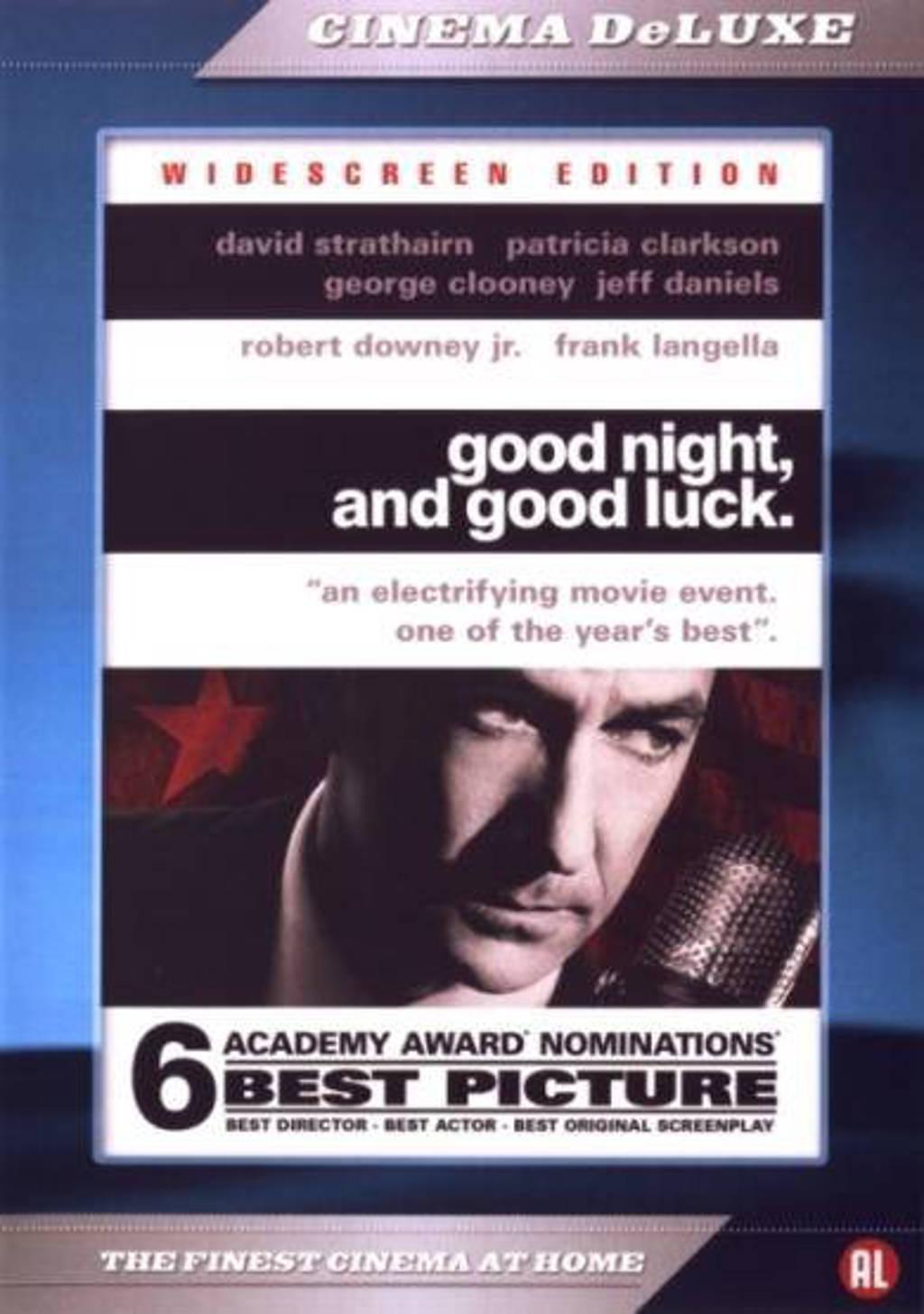 Good Night And Good Luck Dvd Wehkamp