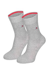 Tommy Hilfiger kinder sokken (2 paar), Grijsmelange