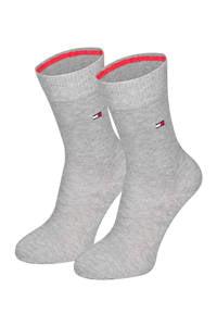 Tommy Hilfiger sokken - set van 2 grijs, Grijsmelange