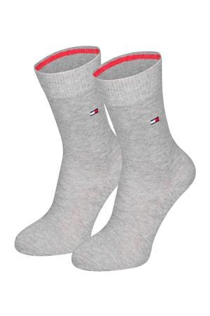 sokken - set van 2 grijs