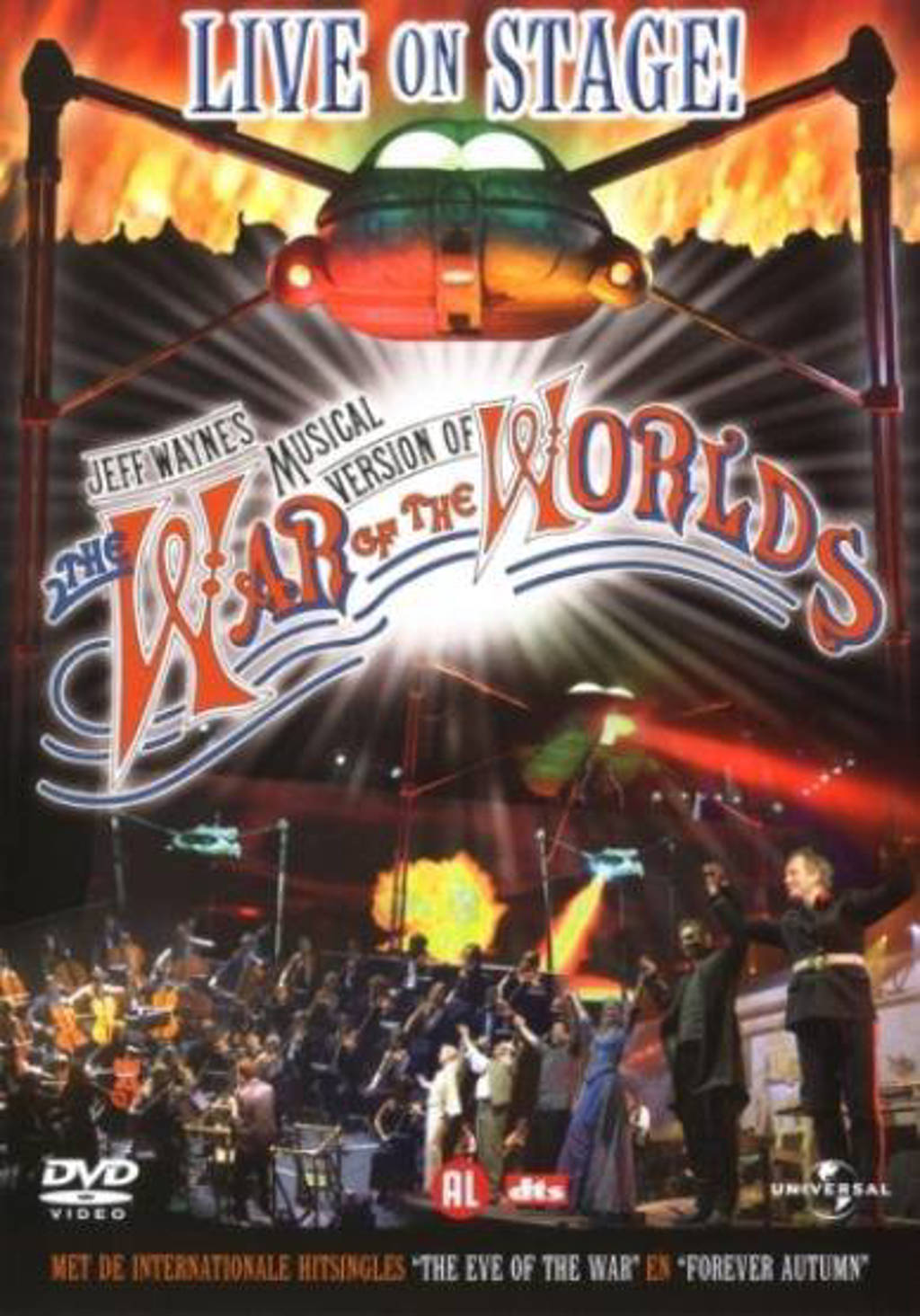 War of the worlds - the musical (DVD)