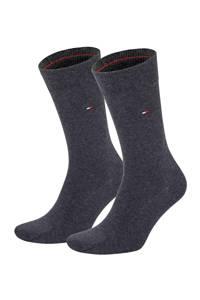 Tommy Hilfiger sokken - set van 2 antraciet, Antraciet melange