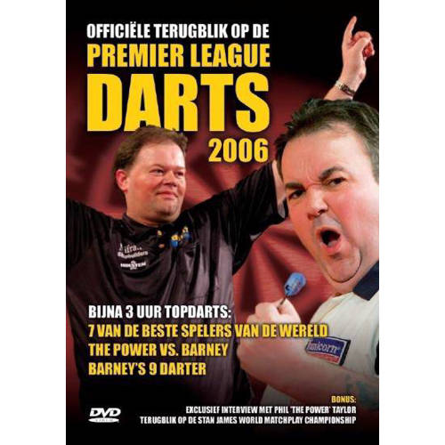 Premier League of darts 2006 (DVD) kopen