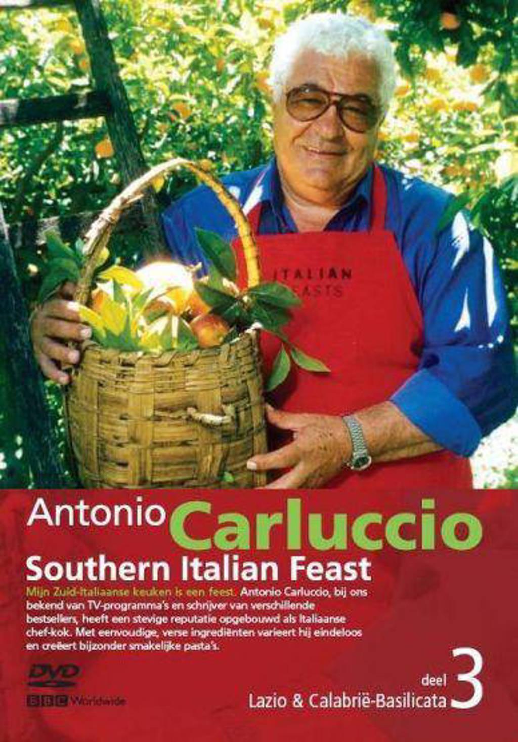 Antonio Carluccio southern Italian feast 3-Lazio & Calabrië-Basilicata  (DVD)