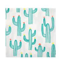 Meri Meri papieren servetten (set van 20), Wit/groen