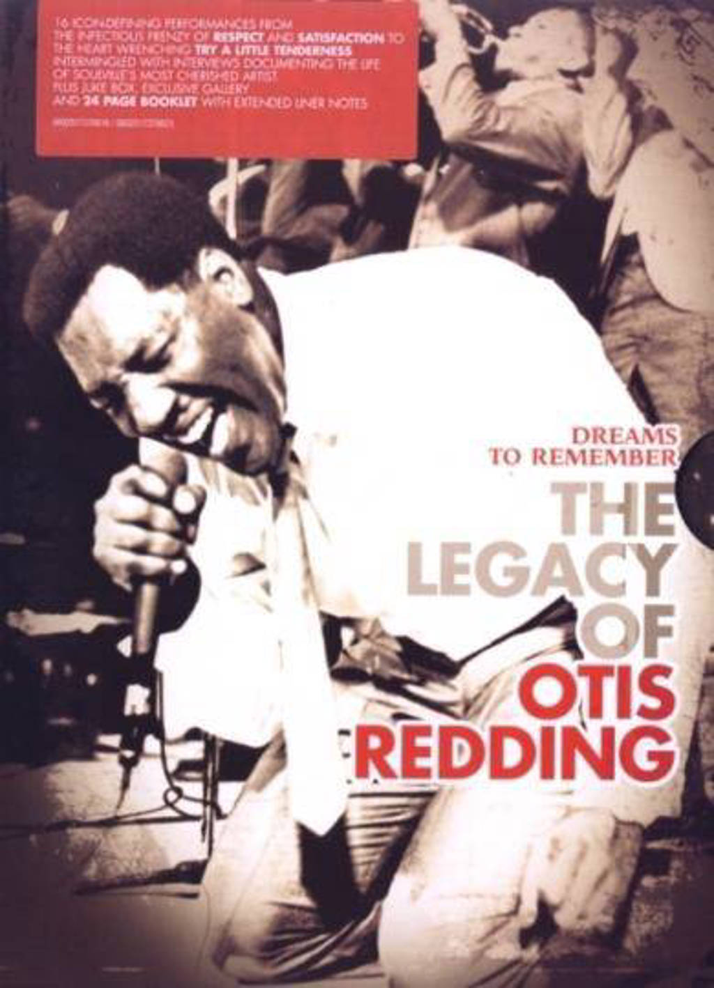 Otis Redding - Dreams to remember the legacy of (DVD)