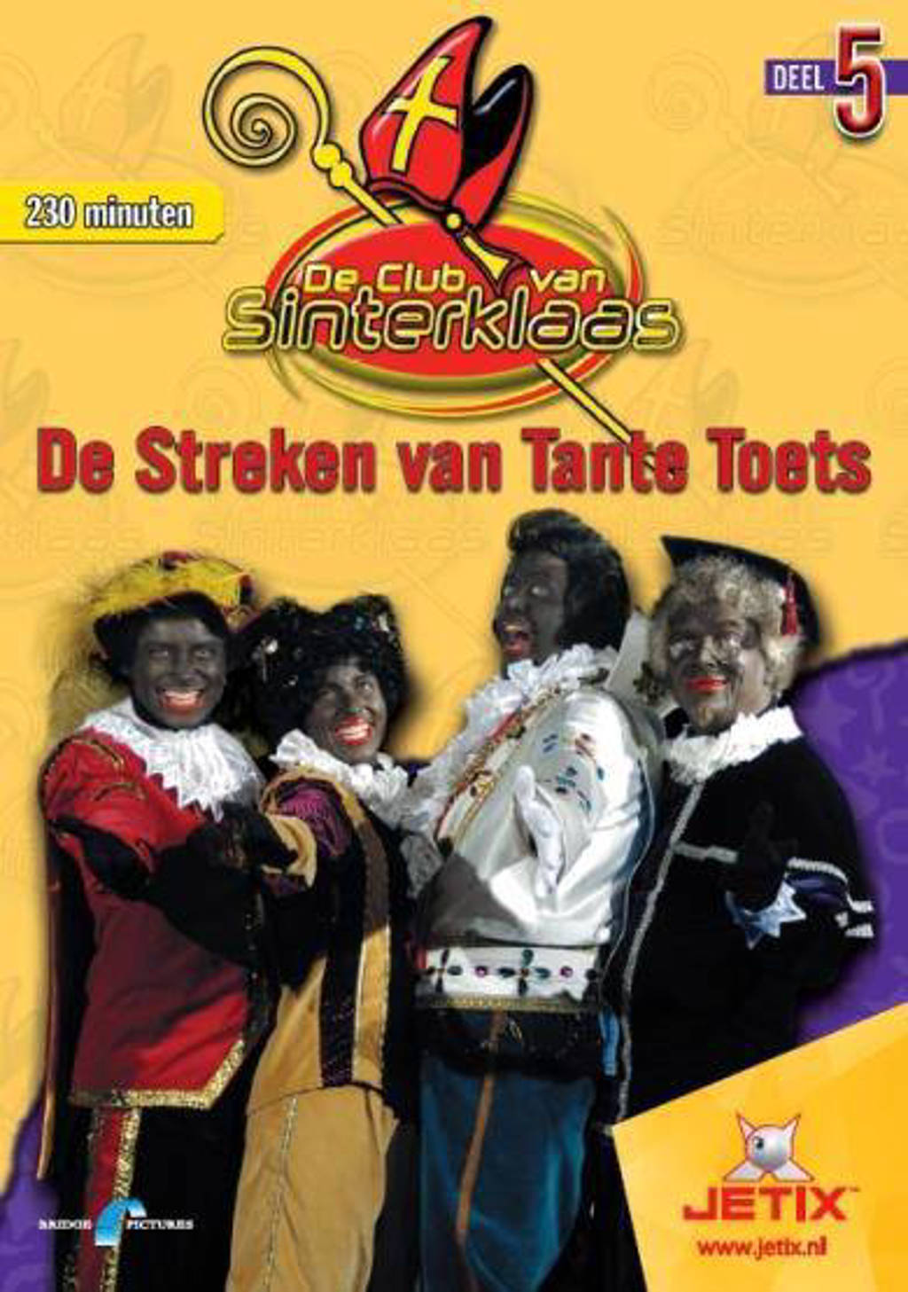 Club van Sinterklaas 5 - De streken van tante Toets (DVD)
