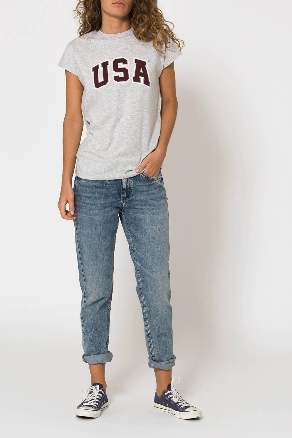 America Today T-shirt, Lichtgrijs