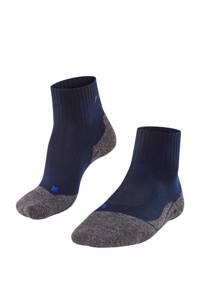 FALKE TK2 Cool wandelsokken, Marine/grijsmelange/zwart