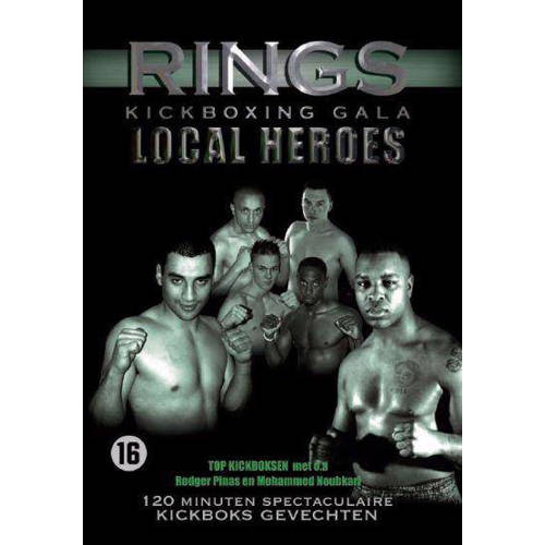 Rings kickboxing gala-local heroes (DVD) kopen