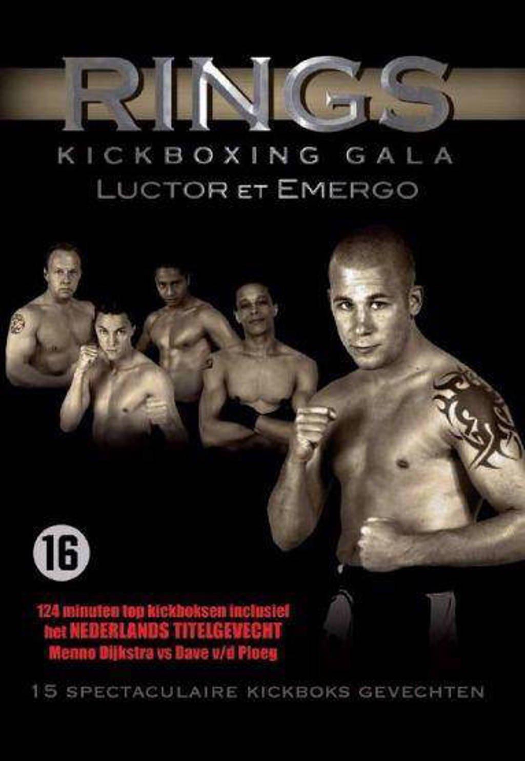 Rings kickboxing gala-Luctor et Emergo (DVD)