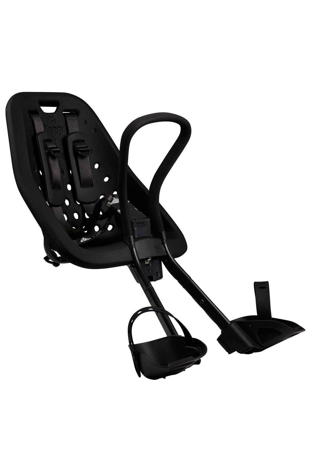 Yepp Mini fietsstoeltje voor zwart, Zwart