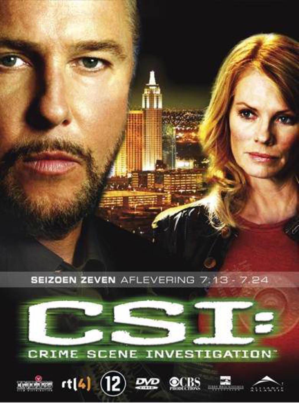 CSI - Seizoen 7 deel 2 (DVD)