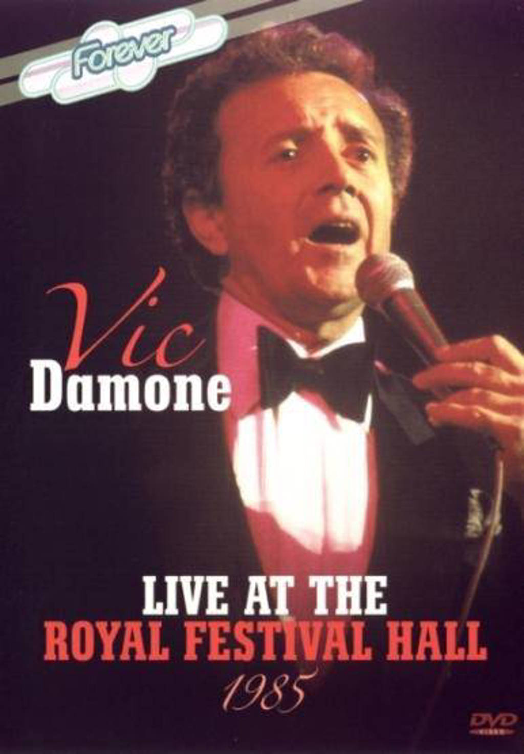 Vic Damone - live at the Royal Festival Hall 1985 (DVD)