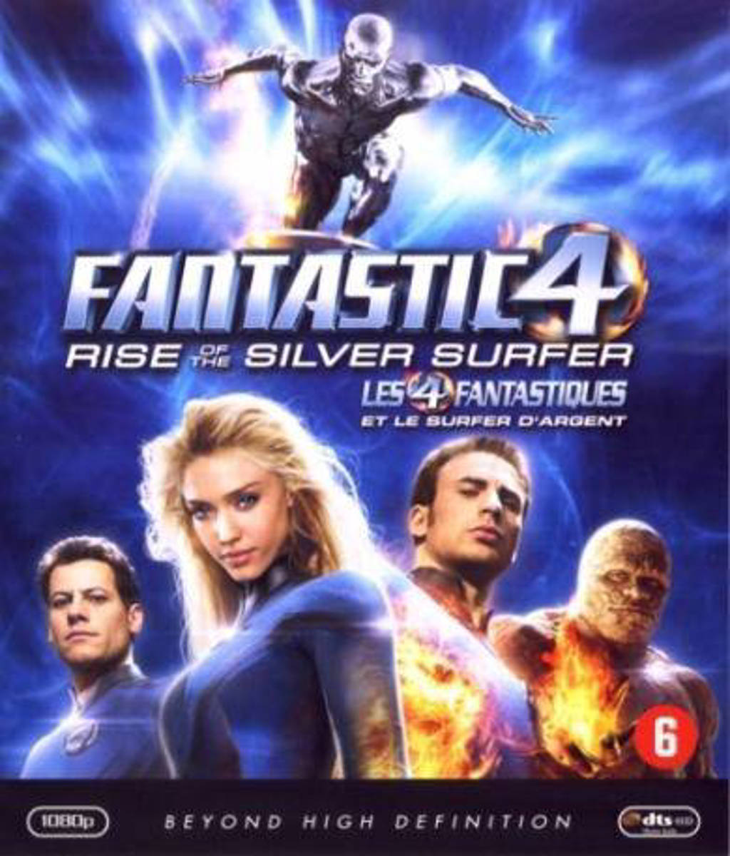 Fantastic 4 - Rise of the silver surfer (Blu-ray)